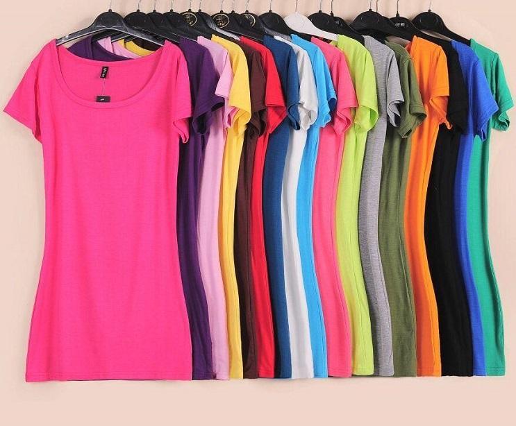 ropa de color