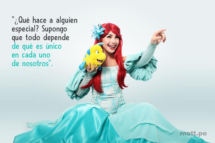10 frases de princesas y hadas de Disney que te motivarán - Ariel.1