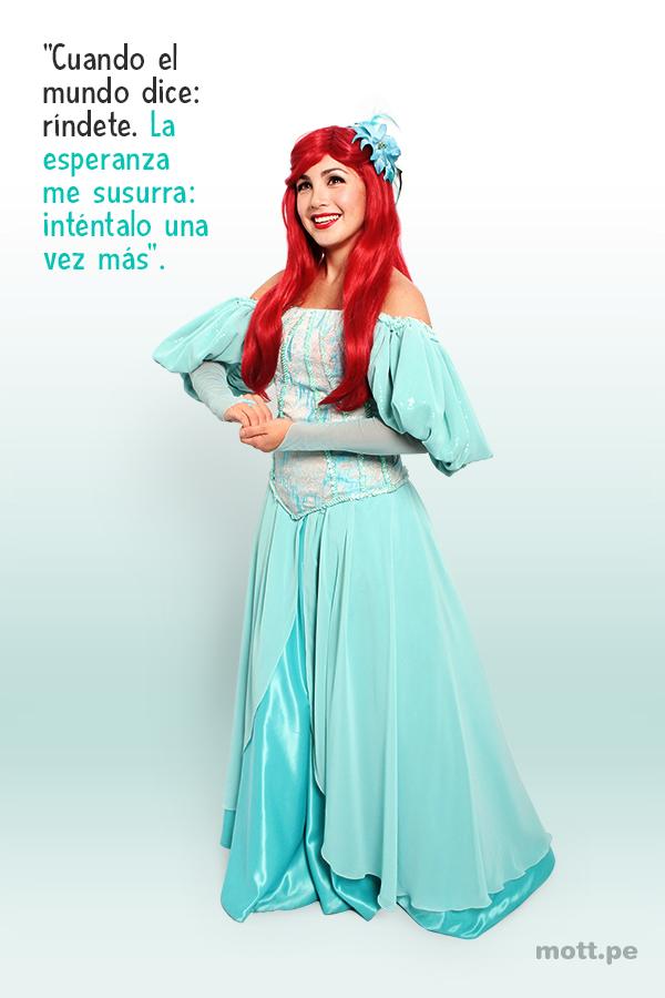 10 frases de princesas y hadas de Disney que te motivarán - Ariel.2