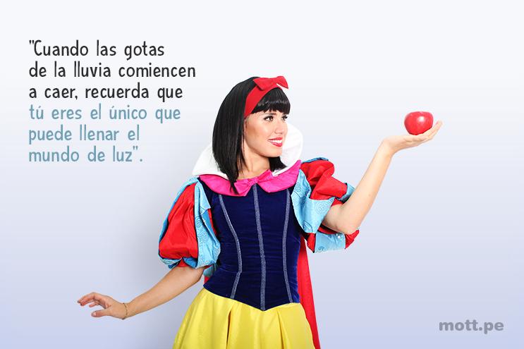 10 frases de princesas y hadas de Disney que te motivarán - Blancanieves.1