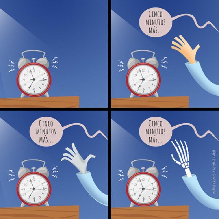 10 situaciones típicas que pasas cuando odias levantarte de la cama 01