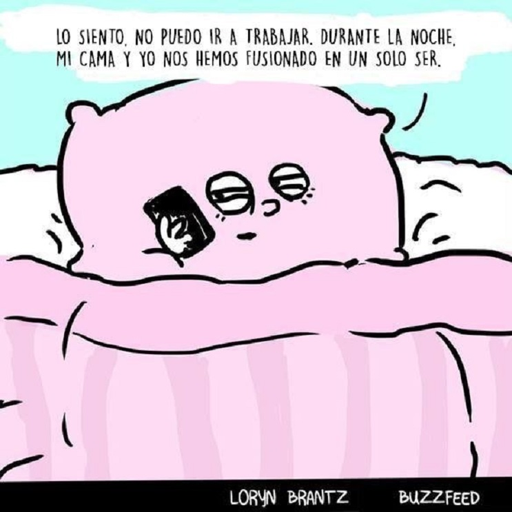 10 situaciones típicas que pasas cuando odias levantarte de la cama 02