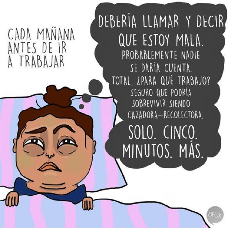 10 situaciones típicas que pasas cuando odias levantarte de la cama 03