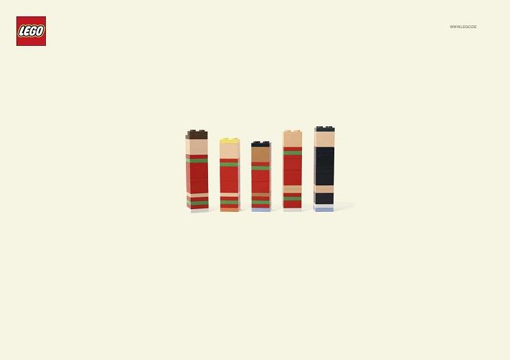 Adivinan quiénes son los personajes de estas ilustraciones minimalistas lego 01