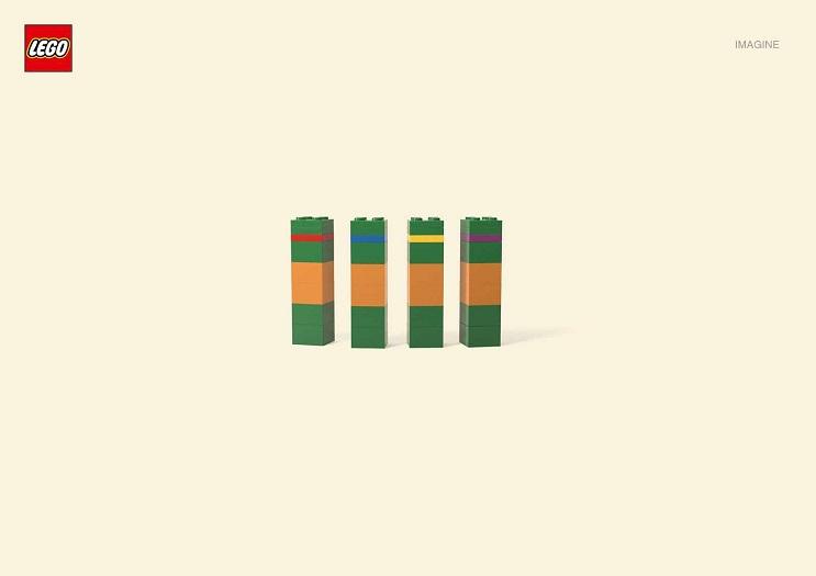 Adivinan quiénes son los personajes de estas ilustraciones minimalistas lego 06