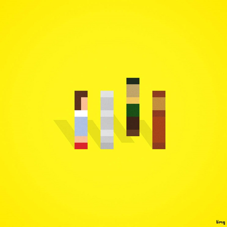 Adivinan quiénes son los personajes de estas ilustraciones minimalistas mago de oz