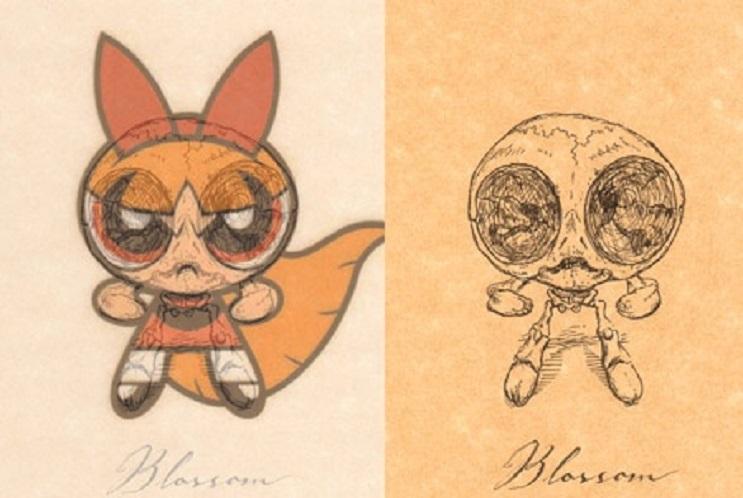 Así es como se verían los esqueletos de algunos personajes del mundo animado 18