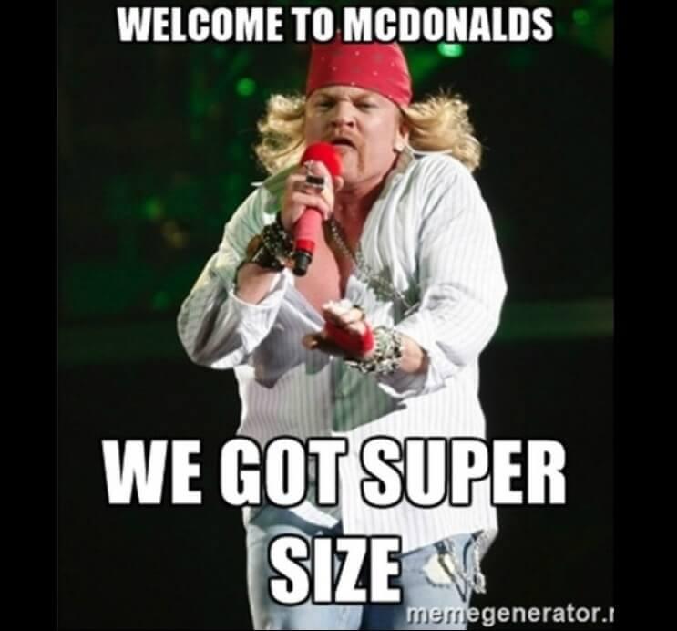 Axl Rose exige a Google remover todos los memes referentes a su sobrepeso 04