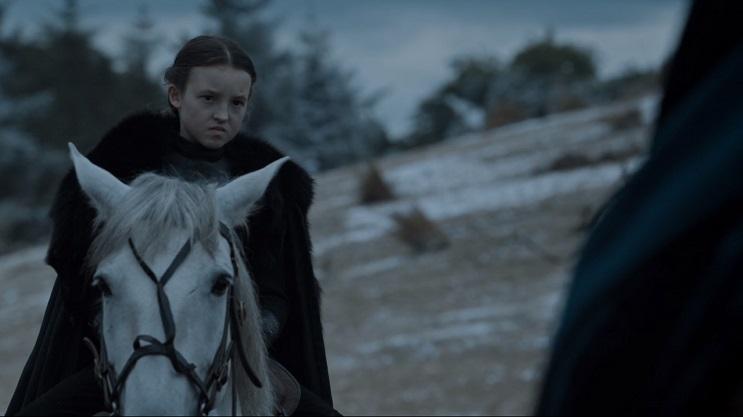 Bella Ramsey, la actriz que interpreta a la feroz Lyanna Mormont 7