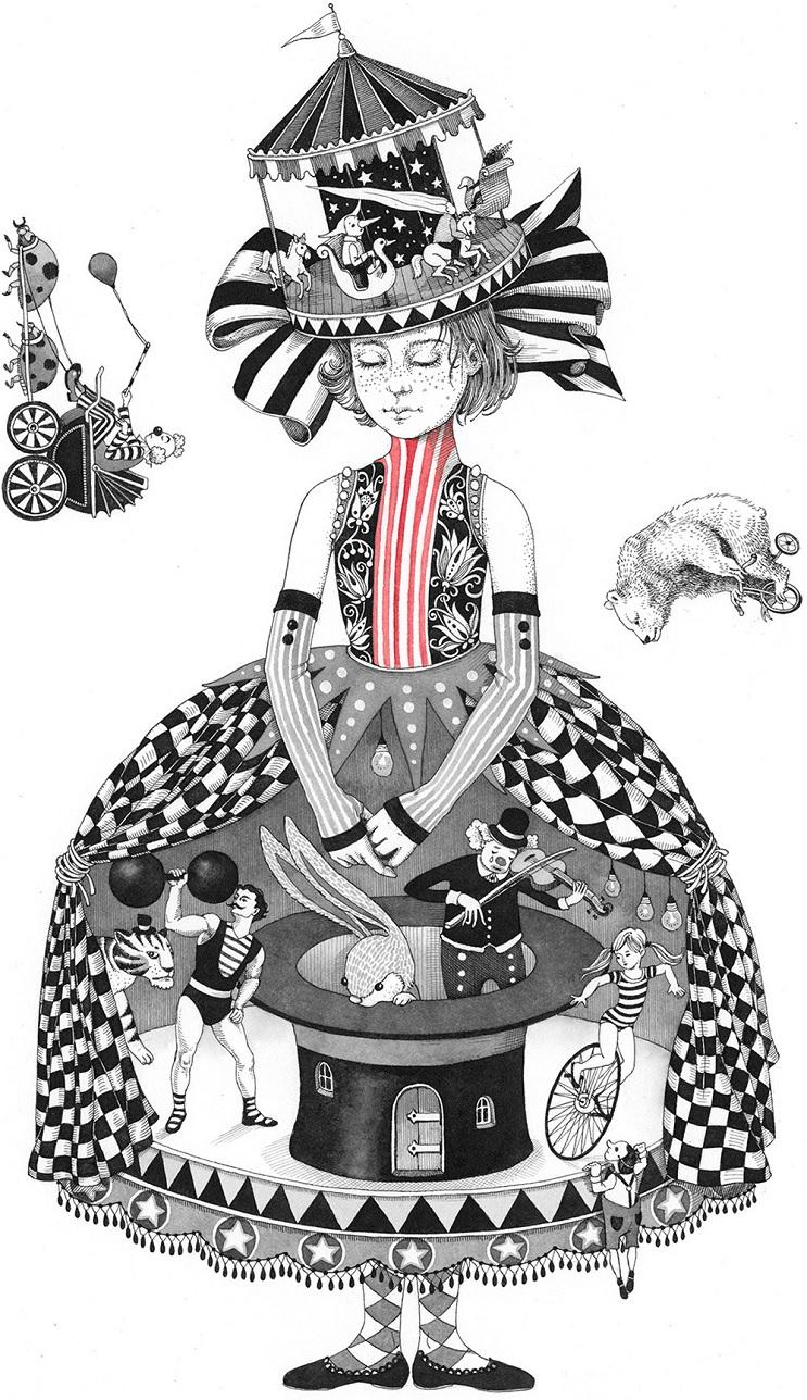 Bellas y poéticas ilustraciones de Sveta Dorosheva que rinden homenaje a su infancia 11.1