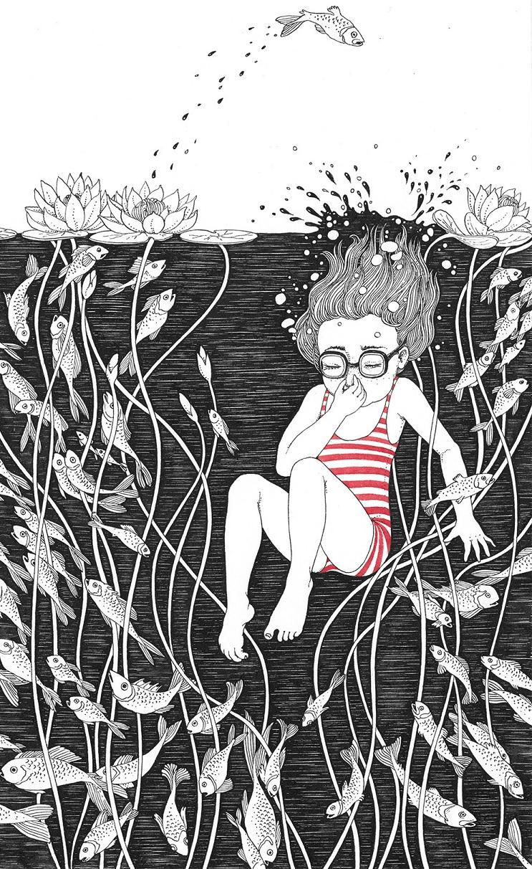 Bellas y poéticas ilustraciones de Sveta Dorosheva que rinden homenaje a su infancia 3.1