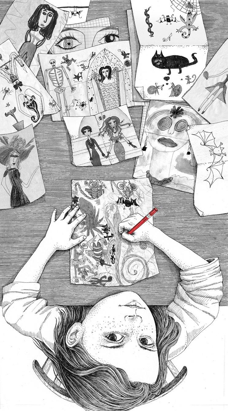 Bellas y poéticas ilustraciones de Sveta Dorosheva que rinden homenaje a su infancia 4