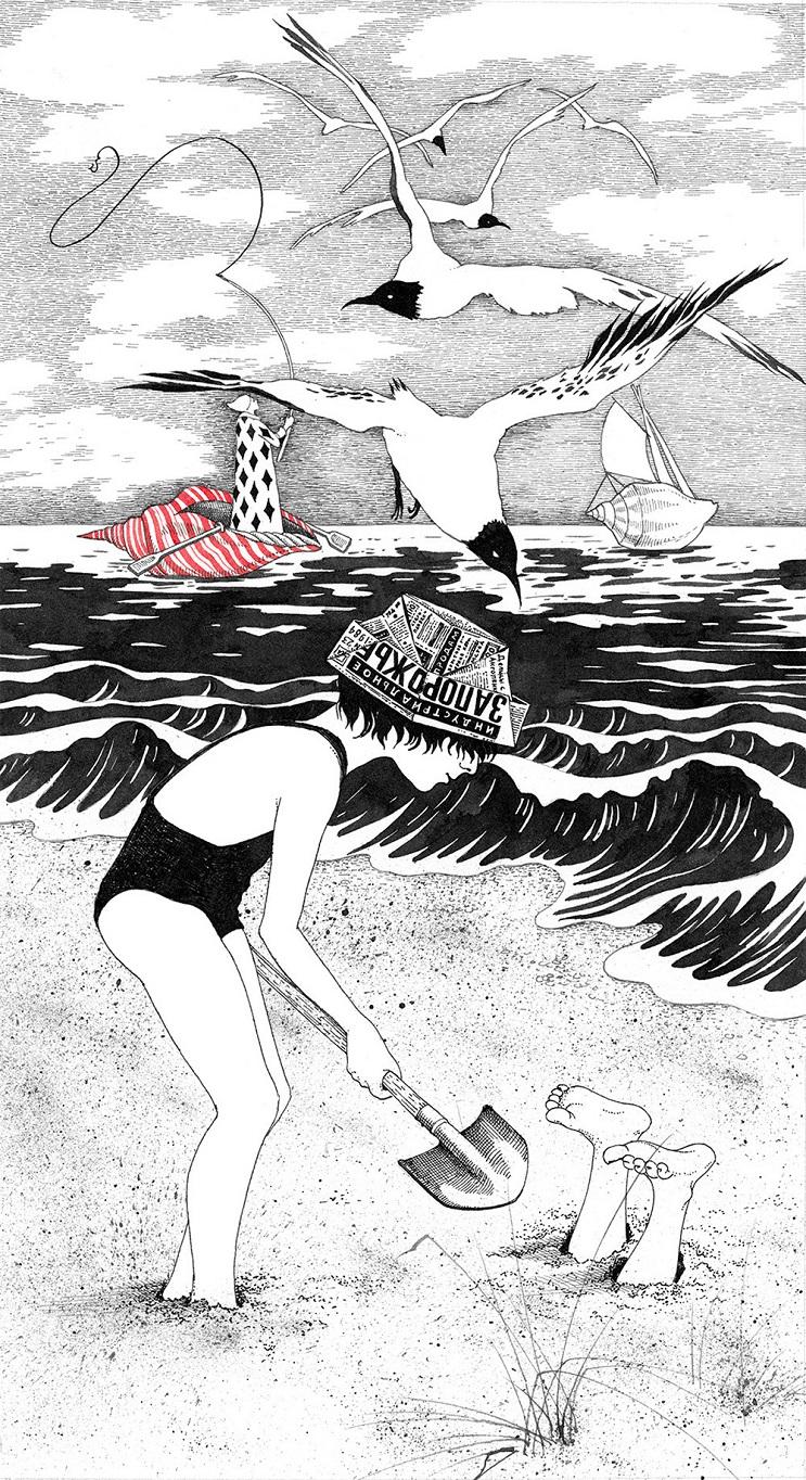 Bellas y poéticas ilustraciones de Sveta Dorosheva que rinden homenaje a su infancia 8