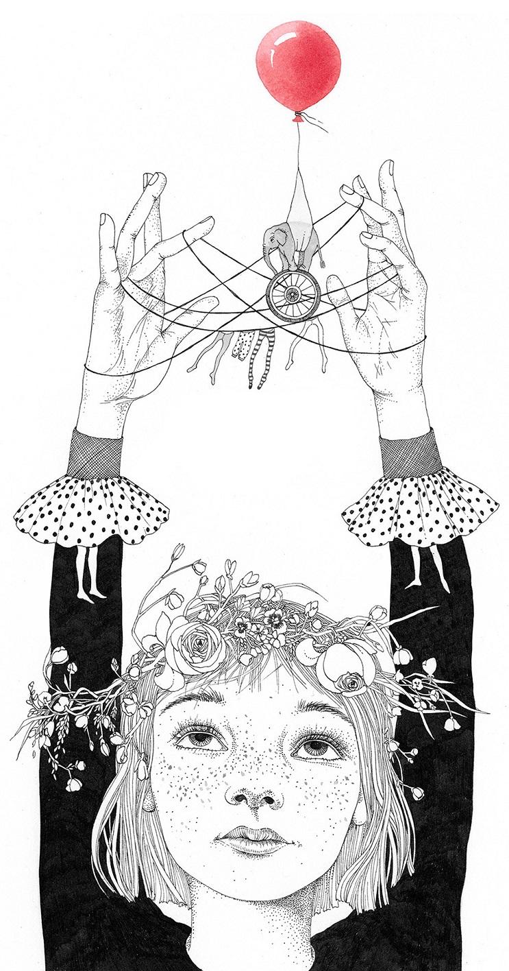 Bellas y poéticas ilustraciones de Sveta Dorosheva que rinden homenaje a su infancia 9