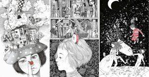 Bellas y poéticas ilustraciones de Sveta Dorosheva que rinden homenaje a su infancia