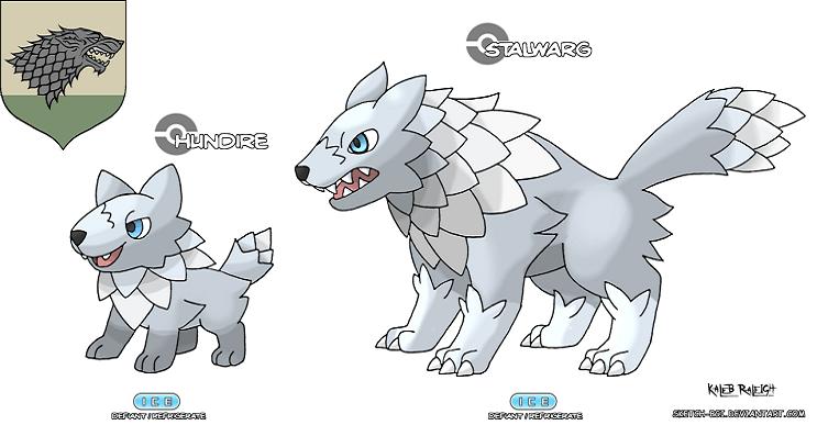 ¿Cómo se verían los Pokémon si fueran parte de Game of Thrones?
