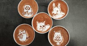 Las creaciones y diseños sobre estos café latte te encantarán