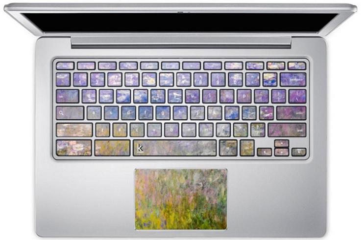 Con estos stickers podrás convertir tu laptop en una obra de arte 8