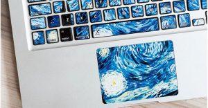 Con estos stickers podrás convertir tu laptop en una obra de arte