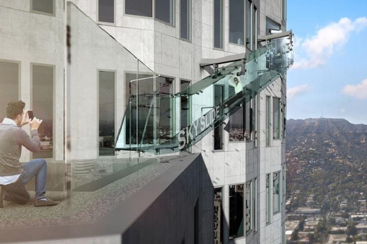 Conoce el tobogán más alto de Los Ángeles Te atreverías a subirte 02