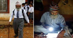 Conoce la ejemplar historia del hombre que decidió terminar la escuela a los 68 años