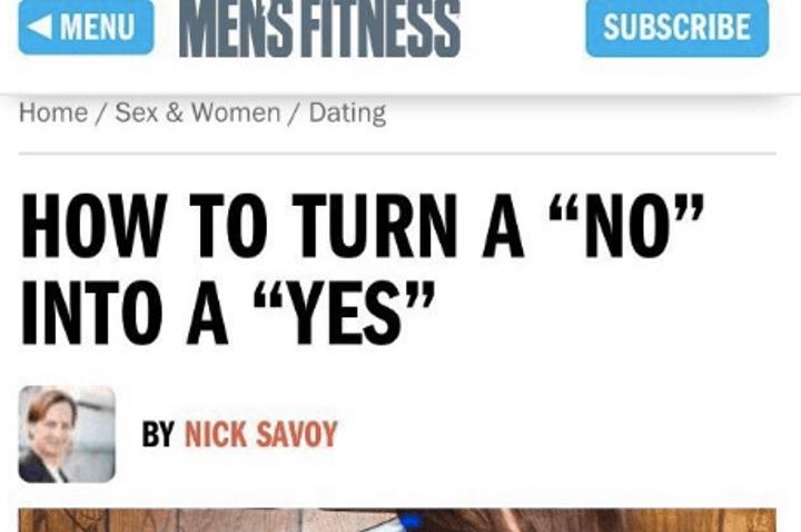 Conocida revista masculina generó gran rechazo tras publicar contenido machista e inadecuado 03