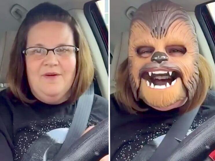 Cuánto ha ganado la mamá Chewbacca desde su éxito viral Te sorprenderás 007