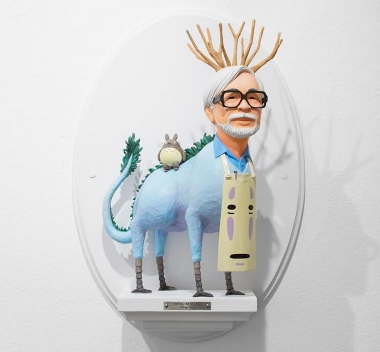 Cuando famosos directores reencarnan a sus personajes más conocidos Hayao Miyazaki