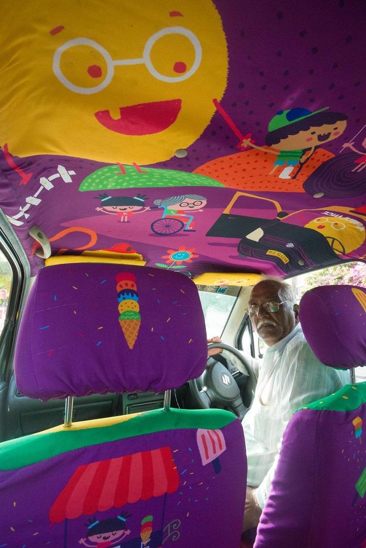 Descubre que llevó a este hombre de 75 años a dejar su trabajo y convertirse en taxista 02