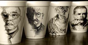 El arte de despertar y dibujar en tazas de café