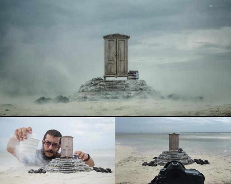 El detrás de cámaras del nuevo trabajo de Félix Hernández El Armario 1