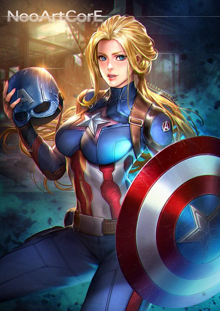 El universo de Marvel da un giro para mostrar el poder femenino de sus personajes 02