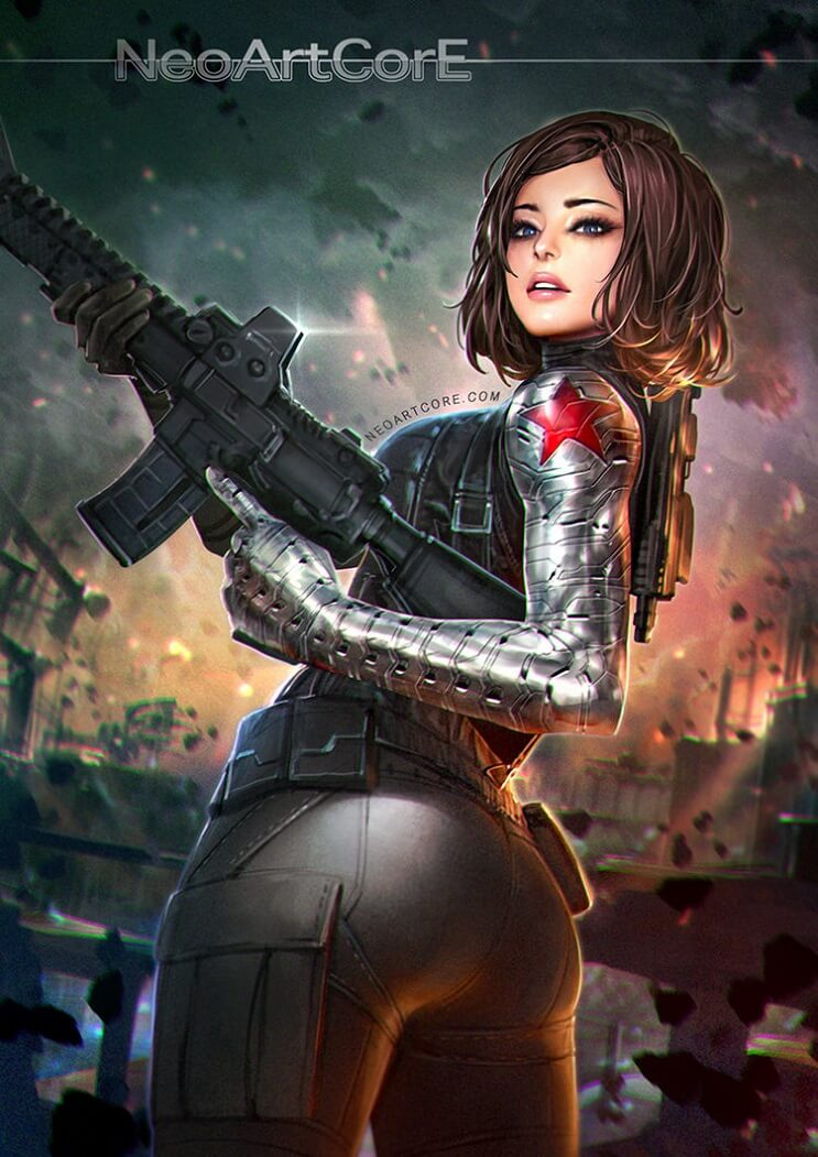El universo de Marvel da un giro para mostrar el poder femenino de sus personajes 03