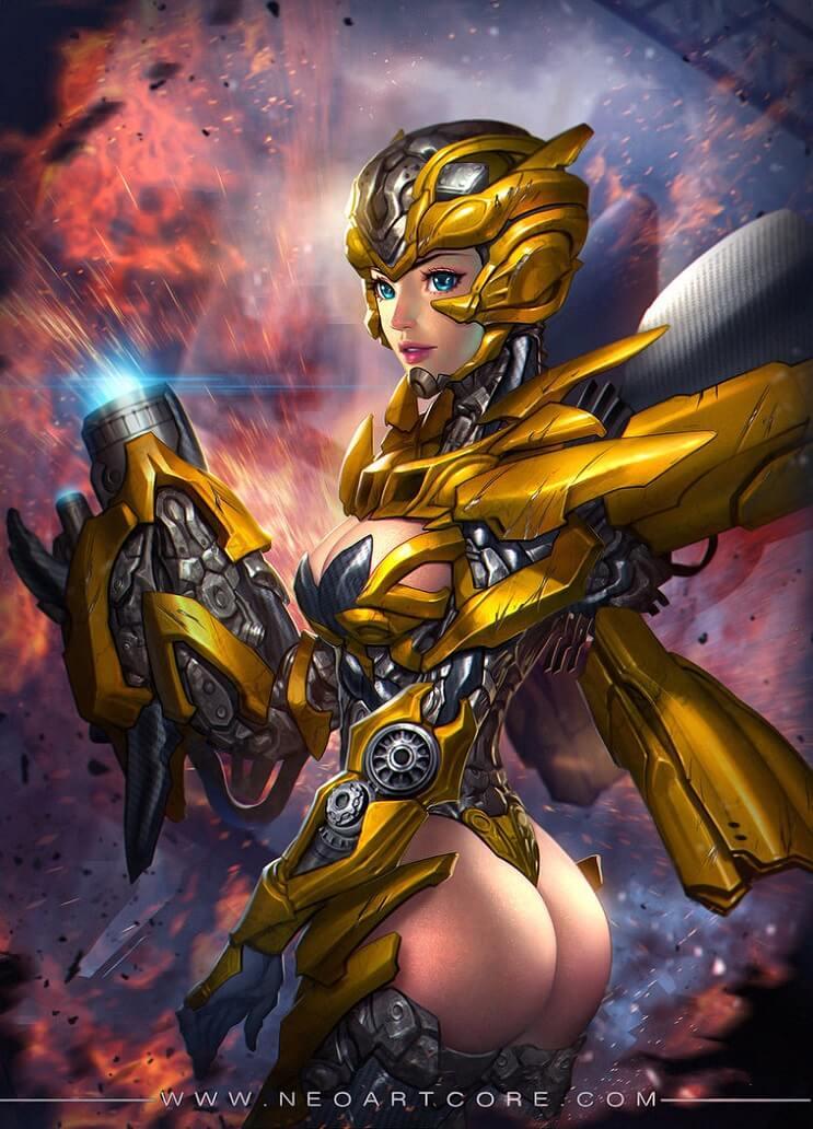 El universo de Marvel da un giro para mostrar el poder femenino de sus personajes 09