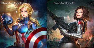 El universo de Marvel da un giro para mostrar el poder femenino de sus personajes