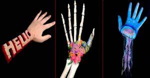 Esta artista utiliza un increíble estilo en 3D para crear arte ilusionista en sus brazos