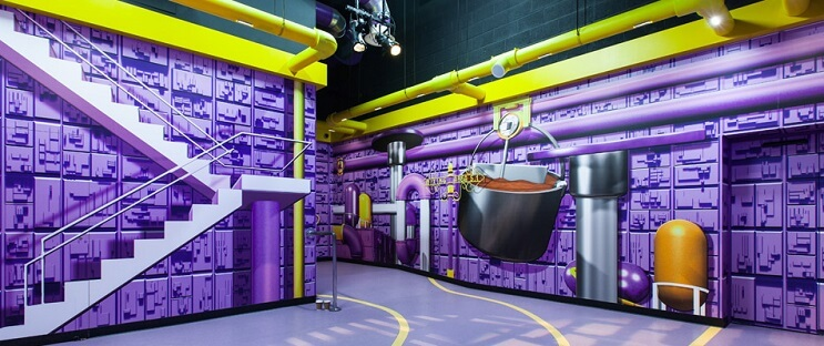 Esta fábrica de chocolate parece la de Willy Wonka 05