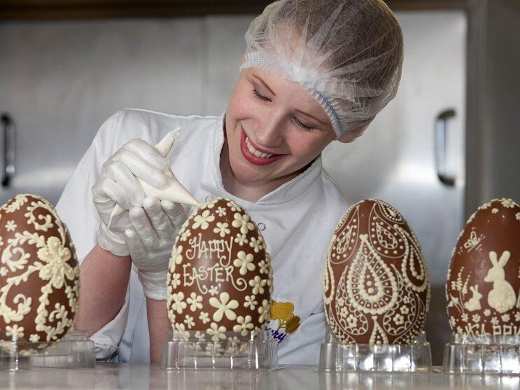 Esta fábrica de chocolate parece la de Willy Wonka 26