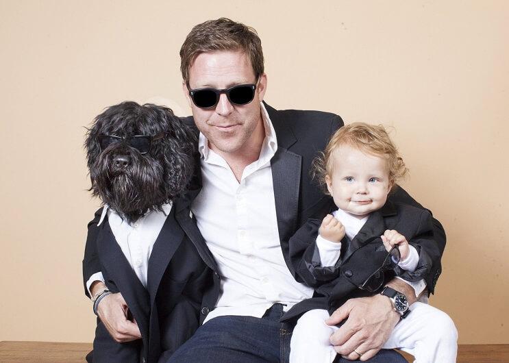 Esta fotógrafa retrata a padres con sus hijos perrunos de la más adorable manera 08