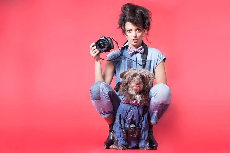 Esta fotógrafa retrata a padres con sus hijos perrunos de la más adorable manera 10
