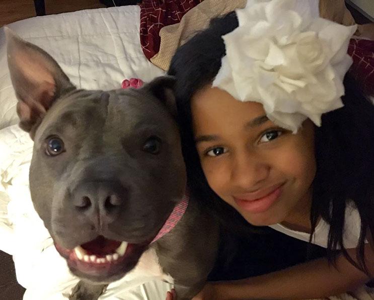 Esta niña con Asperger fue separa de su perro de ayuda hace 1 año. Ahora buscan nuevo hogar 07
