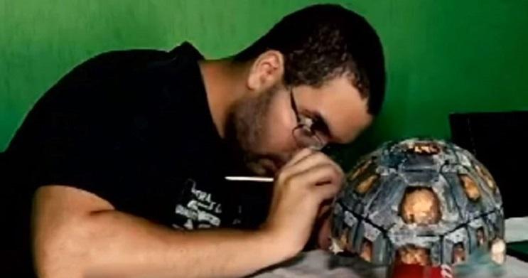 Esta tortuga sobrevivió a incendio y recibió el primer caparazón en 3D del mundo 6