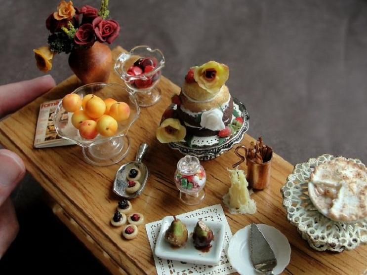 Estas esculturas de comida en miniatura hechas de arcilla les despertarán el apetito 05