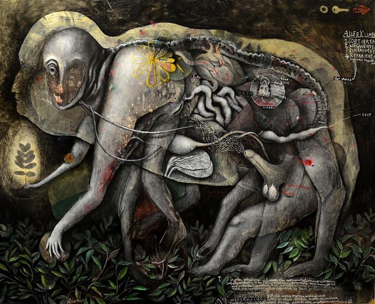 Este artista lleva el surrealismo a otro nivel por medio de sus famosas obras 11