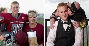 Este joven fue al baile de graduación con su madre. La razón les romperá el corazón