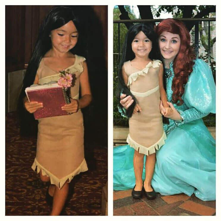 Este papá diseñador crea los más fabulosos vestidos para sus hijas 12