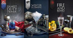"""Fanáticos de """"Games of Thrones"""": Conoce los cócteles basados en la serie"""