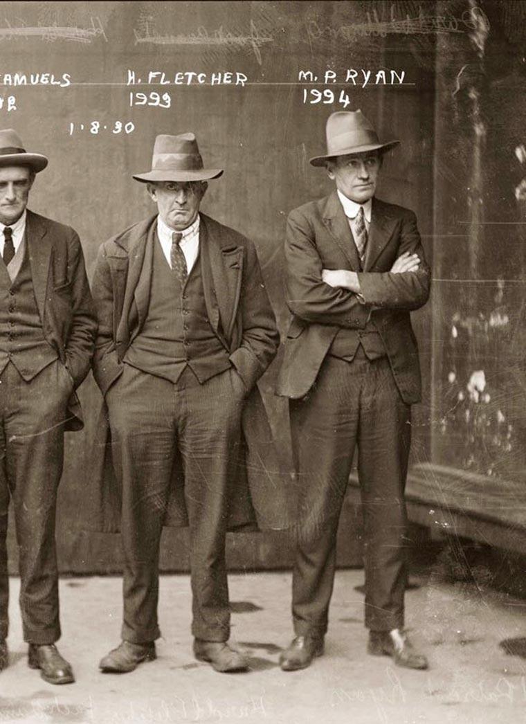 Estos delincuentes sí que sabían vestir con estilo 10