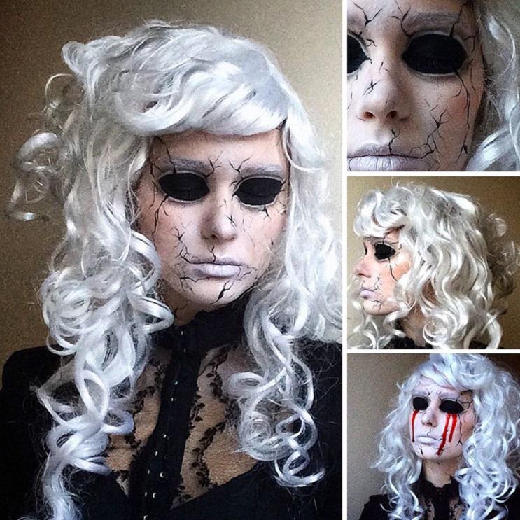 Geniales transformaciones de una artista maquilladora de 19 años que impactarán 02