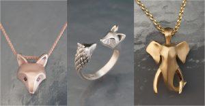 Hermosas joyas inspiradas en animales salvajes que te encantarán